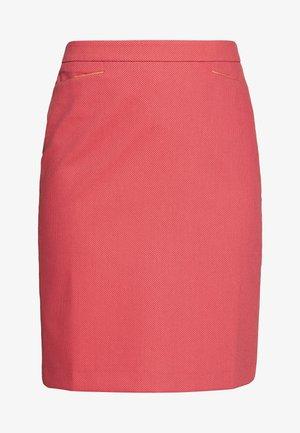 SKIRT SHORT - Jupe crayon - soft raspberry multicolor