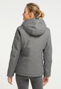 Schmuddelwedda - Winter jacket - dunkelgrau melange - 2
