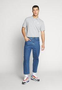 Nike Sportswear - MATCHUP - Polotričko - grey heather/white - 1
