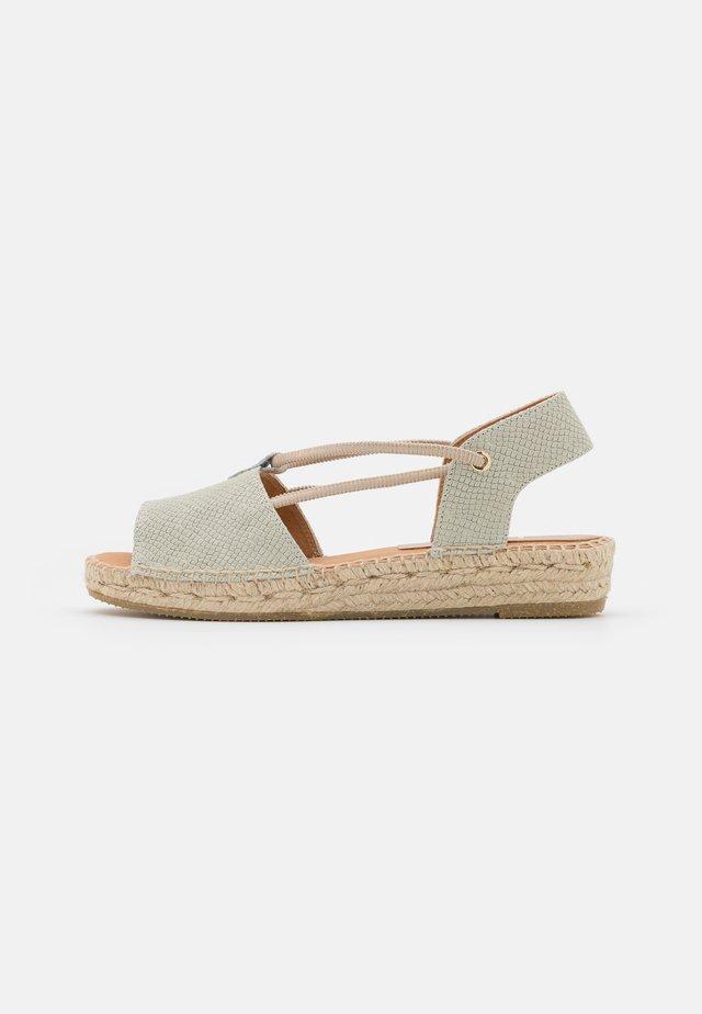 ADA - Korkeakorkoiset sandaalit - aqua