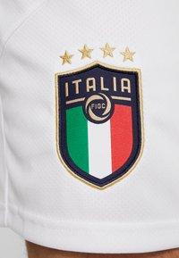 Puma - ITALIEN FIGC HOME & AWAY SHORTS - Korte broeken - puma white/peacoat - 6