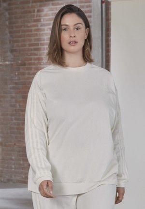 CREW SWEATER  - Sweatshirt - owhite