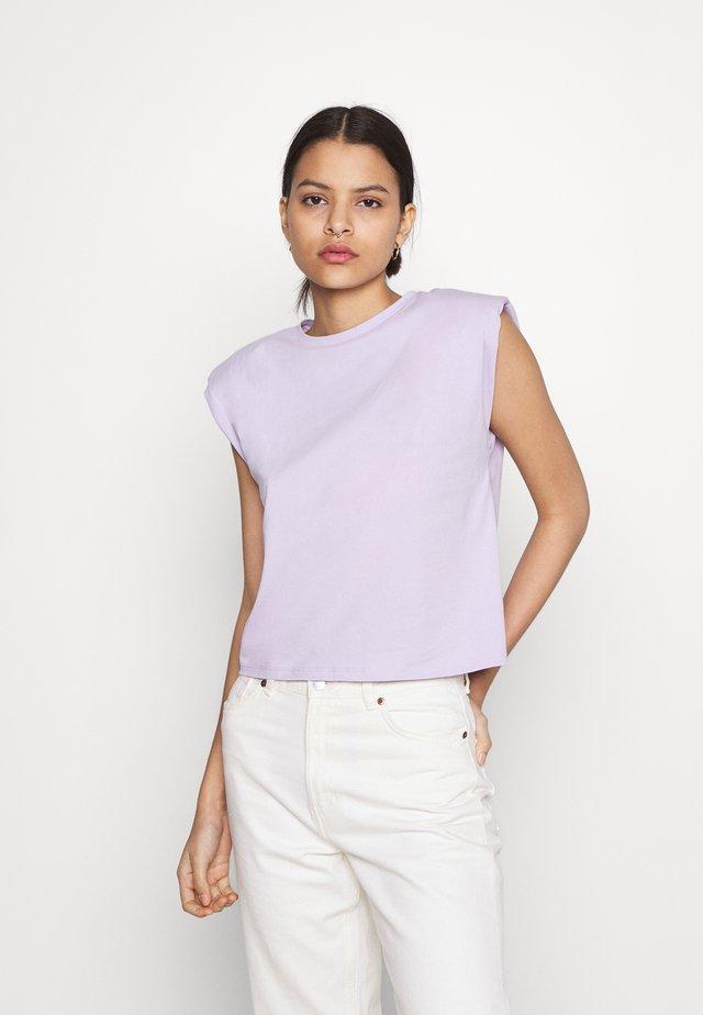 NMMINNA PADDED - T-shirt basic - pastel lilac
