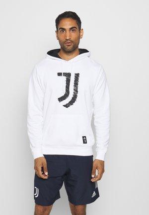 JUVENTUS SPORTS FOOTBALL HOODED - Vereinsmannschaften - white/black