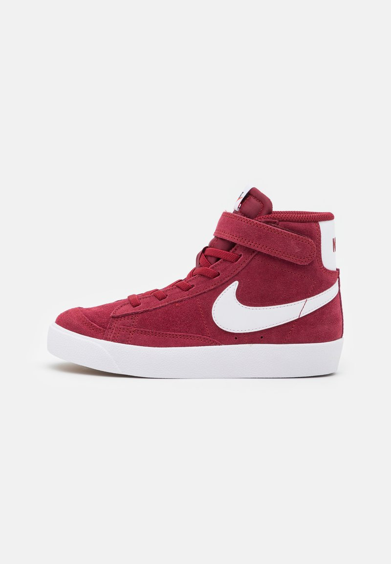Nike Sportswear - BLAZER MID '77 UNISEX - Sneakers hoog - team red/white/black