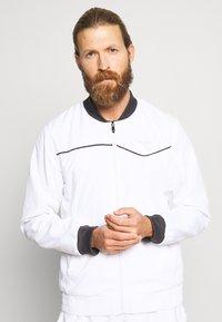 Diadora - JACKET COURT - Training jacket - optical white - 0