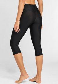 LASCANA - SHAPING CAPRI - Leggings - Stockings - black - 2
