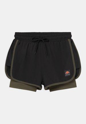 MAYLIA - Sports shorts - khaki/black