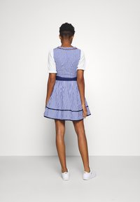 ONLY - ONLLOLA LACE UP DIRNDL DRESS SET - Dirndl - cloud dancer/blue - 2