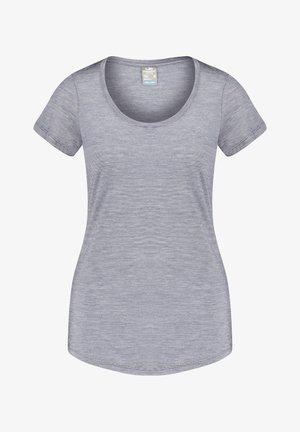 WMNS SPHERE S/S SCOOP - Basic T-shirt - schwarz