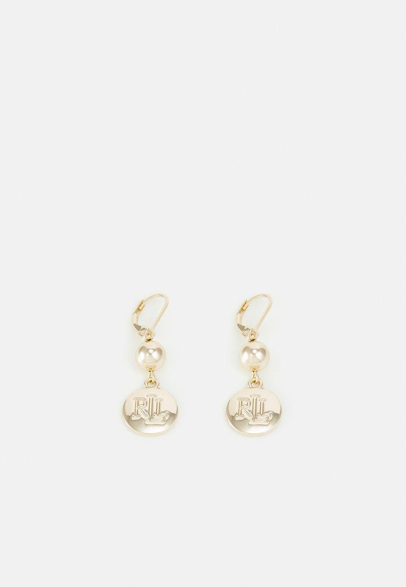 Lauren Ralph Lauren - ENGRAVED DROP - Earrings - gold-coloured