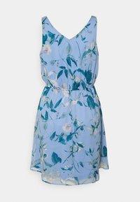 Vero Moda - VMWONDA NEW SINGLET SHORT DRESS - Vapaa-ajan mekko - grapemist/debbie - 1