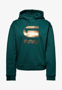 G-Star - GRAPHIC LYNAZ HOODED - Hoodie - green - 5