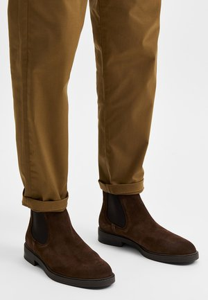 Boots - chocolate brown