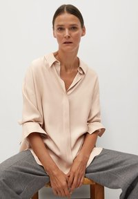 Mango - NETA - Button-down blouse - nude - 5