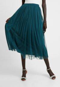 Lace & Beads Tall - MERLIN SKIRT - A-linjekjol - green - 0