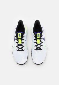 Nike Performance - PRECISION V - Basketball shoes - white/black/barely volt/volt - 3