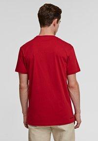 KARL LAGERFELD - IKONIK - Basic T-shirt - red - 2