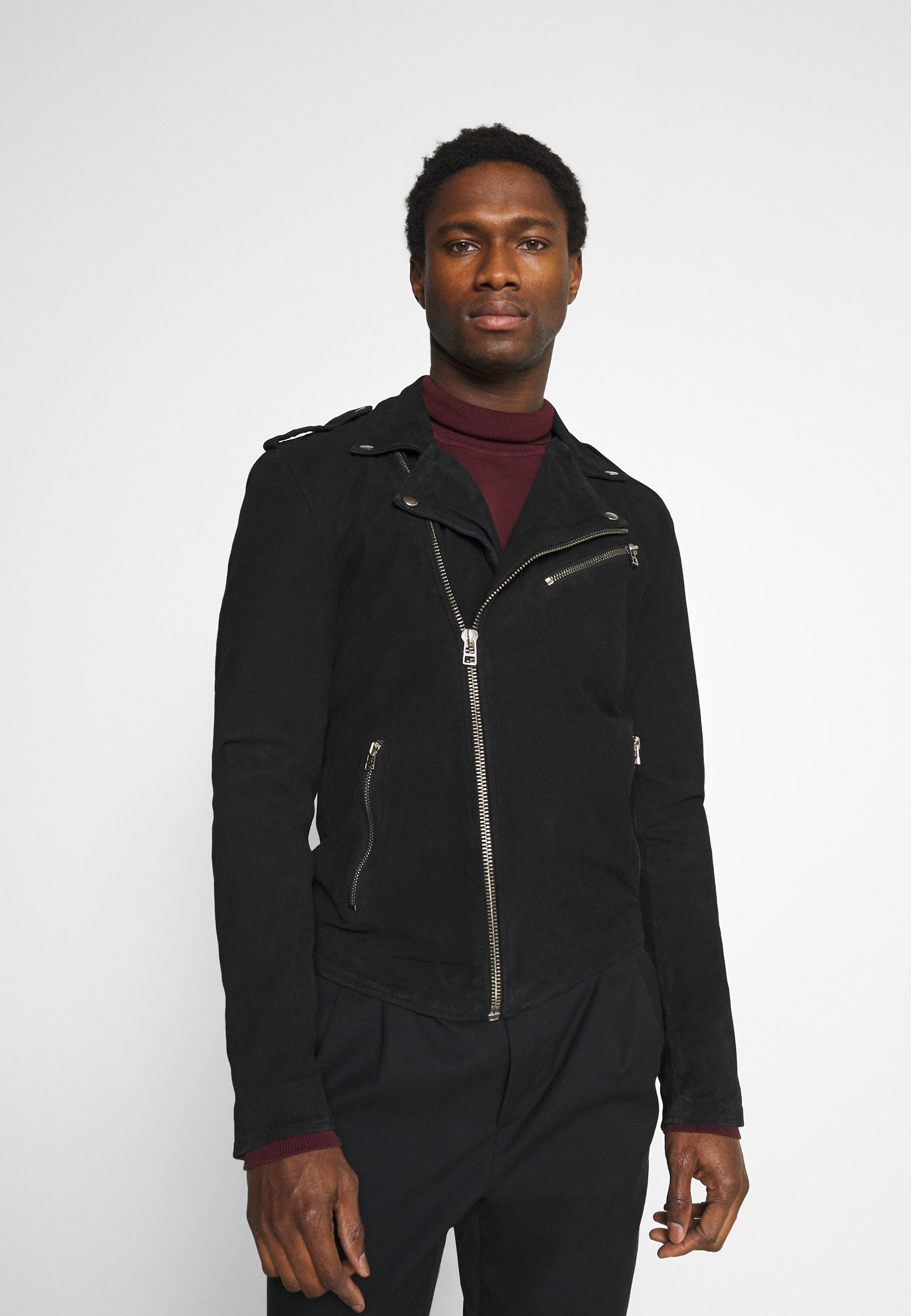 Men ALEXANDER BIKER - Leather jacket