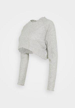 MATERNITY CROSS BACK  - Camiseta de manga larga - grey marle