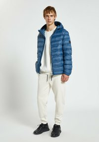 PULL&BEAR - Winter jacket - dark blue