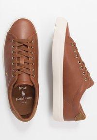 Polo Ralph Lauren - ASHINA LONGWOOD UNISEX - Sneakersy niskie - tan - 1