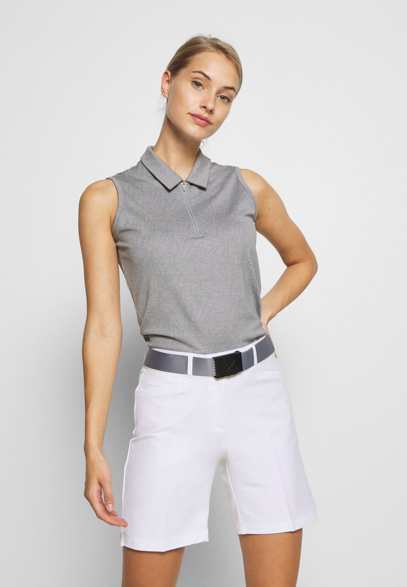 adidas Golf - PERFORMANCE SPORTS GOLF SLEEVELESS - Polo - glory grey