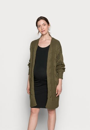 PCMPENELOPE LONG CARDIGAN  - Cardigan - sea turtle
