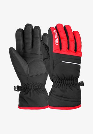 ALAN JUNIOR - Gloves - black fire red