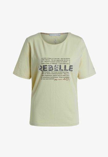 FRANZÖSISCHEM TEXT - T-shirt med print - flan