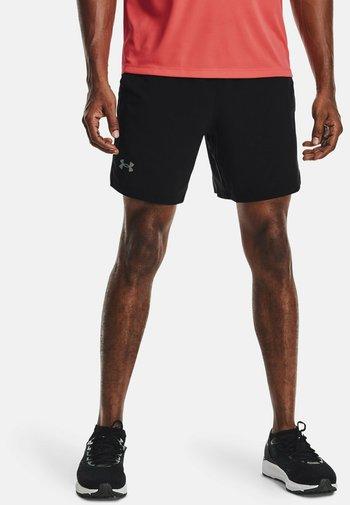 LAUNCH SHORT - Sportovní kraťasy - black
