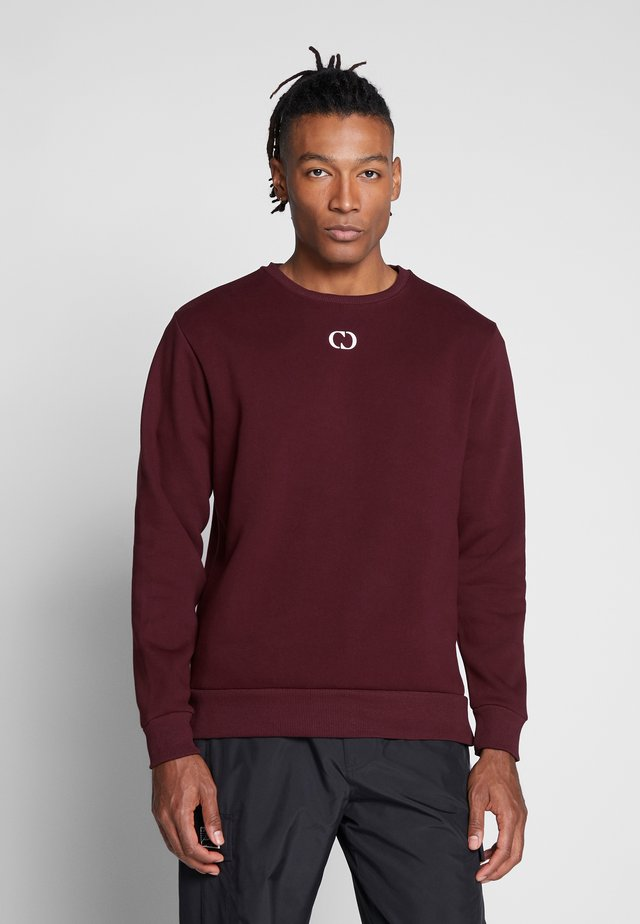 ESSENTIALS CREW - Sweatshirt - burgundy
