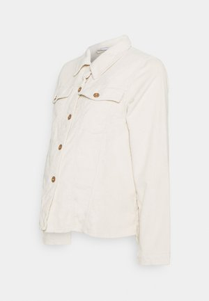 PCMPOLLY SHACKET - Button-down blouse - birch