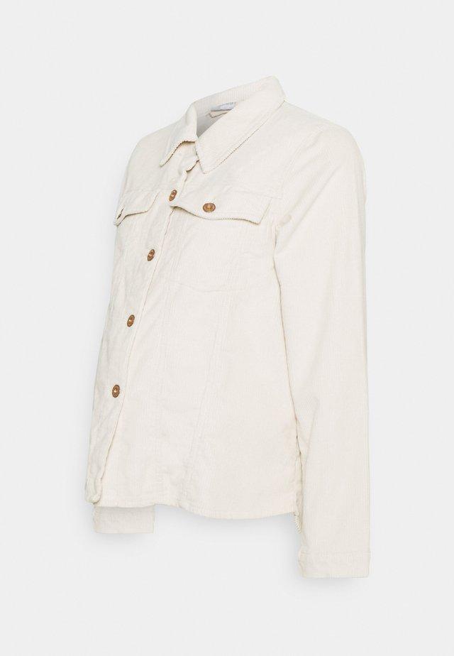 PCMPOLLY SHACKET - Skjorta - birch