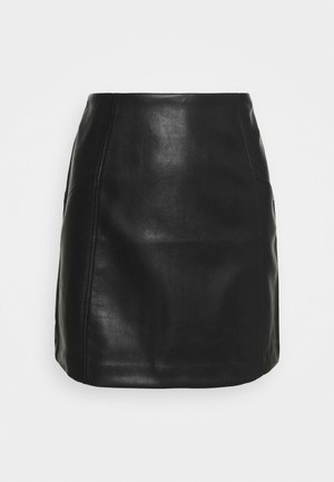 SKIRT - Spódnica mini - black