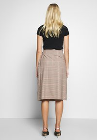 Sisley - SKIRT - Gonna a campana - beige - 2