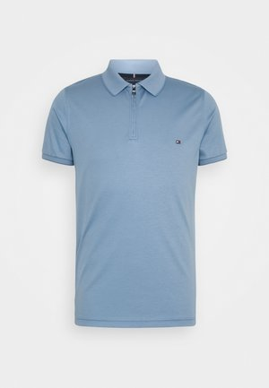 INTERLOCK ZIP SLIM  - Polo shirt - colorado indigo
