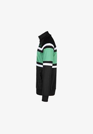Giacca sportiva - c8346 - nero-verde holly