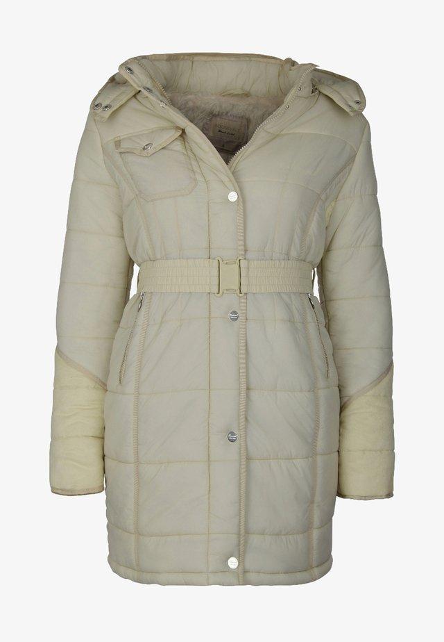 Płaszcz zimowy - off-white