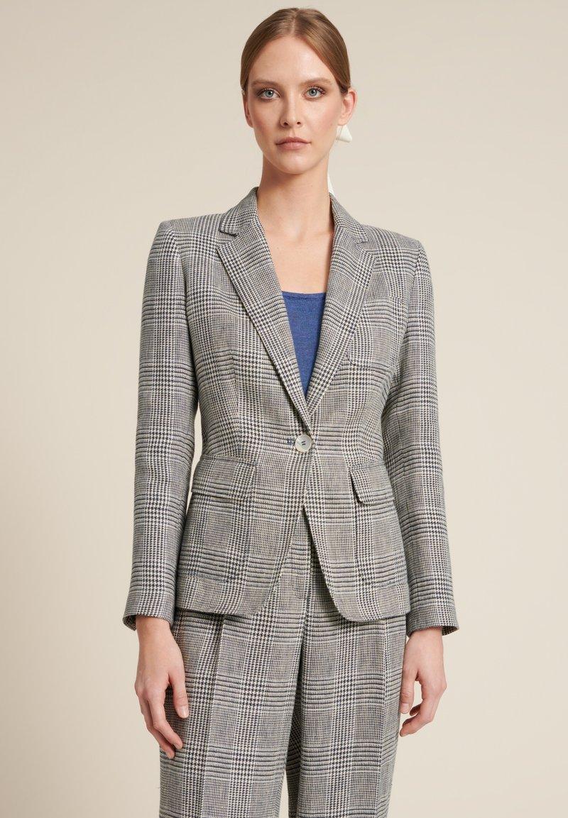 Luisa Spagnoli - VITI - Blazer - grey, blue, blue-grey