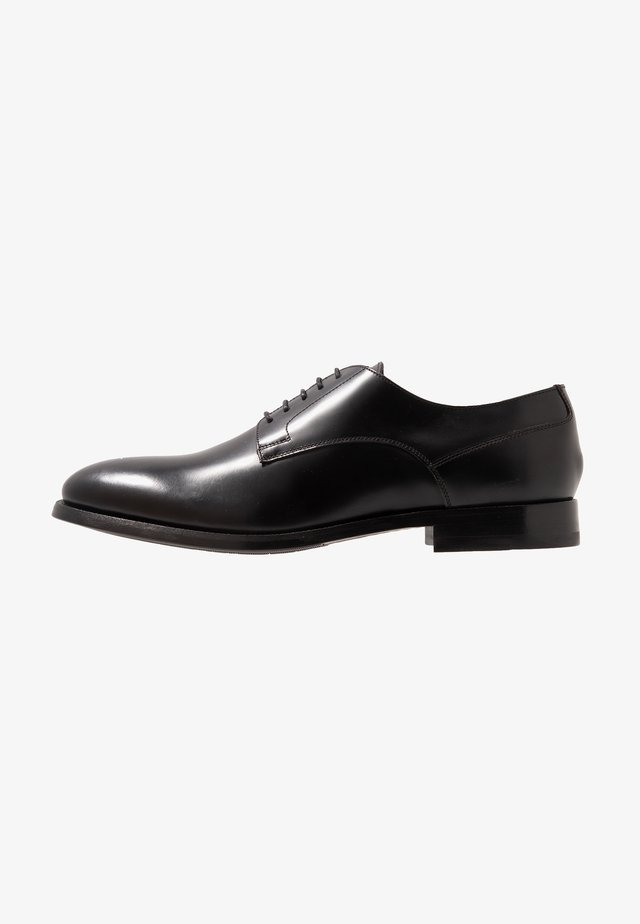 KING 5 EYE DERBY - Eleganta snörskor - black