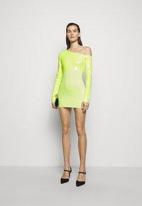 David Koma - Cocktail dress / Party dress - neon yellow - 1