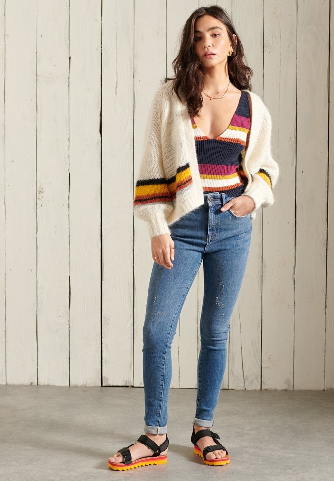 Femme HIGH RISE - Jeans Skinny
