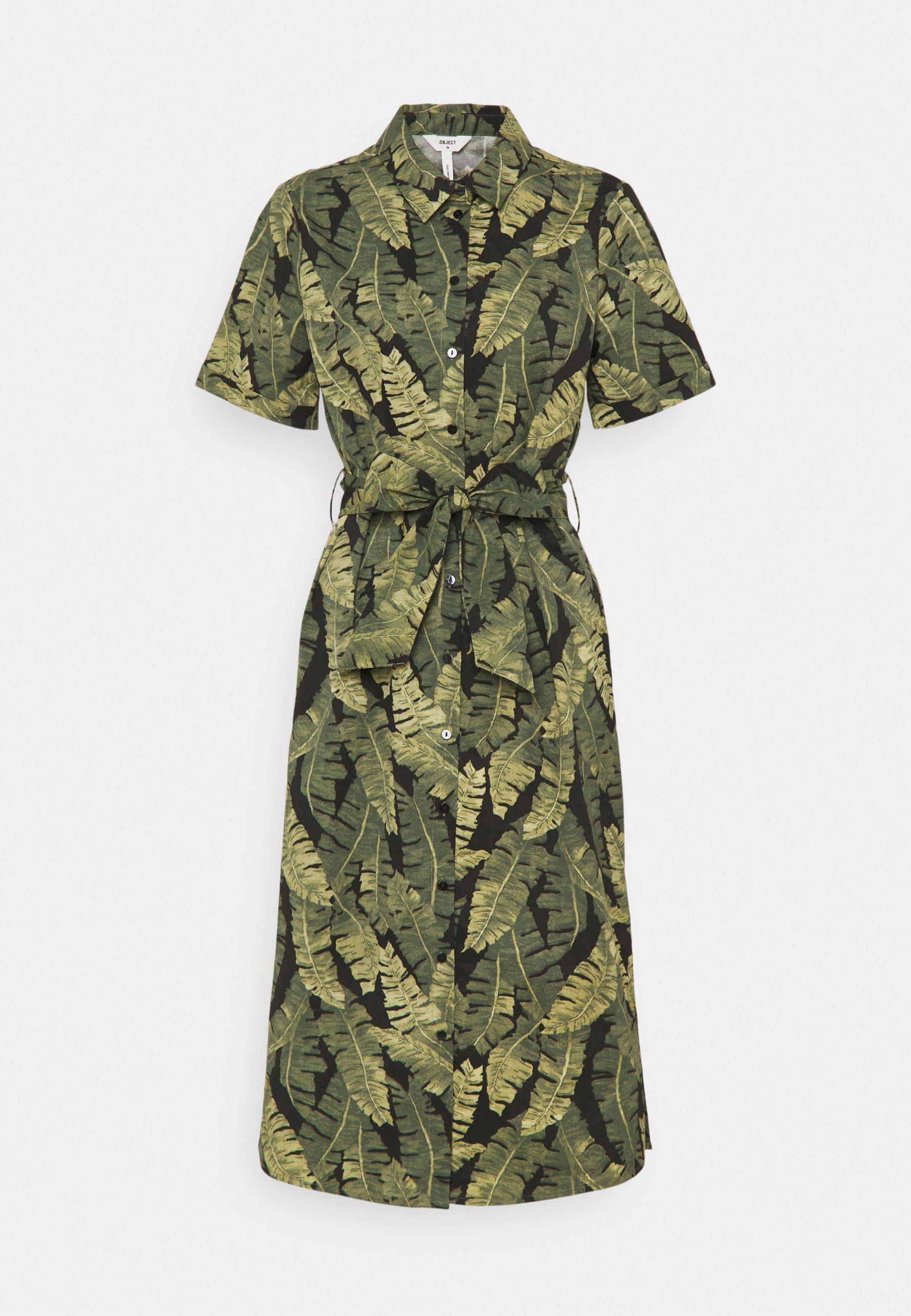 Women OBJFANA DRESS - Shirt dress