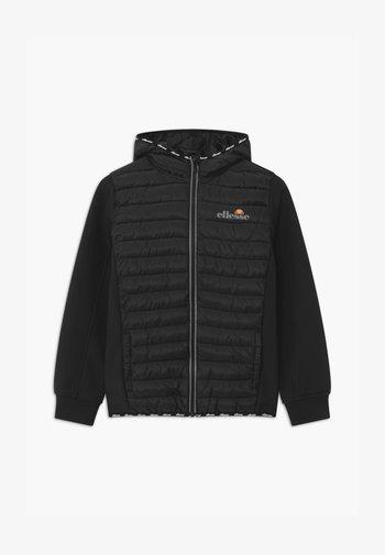 GLINTA QUILTED UNISEX - Training jacket - black