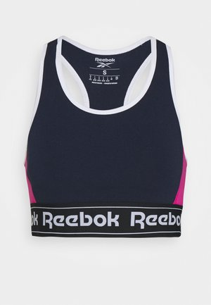 LINEAR LOGO BRALETTE - Sports bra - dark blue