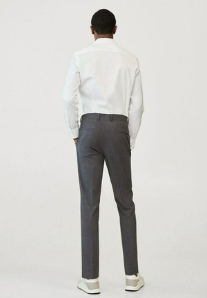 TRAVEL - Pantaloni eleganti - grau