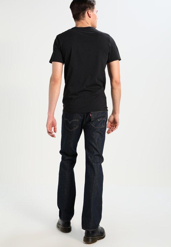 Levi's® GRAPHIC SET-IN NECK - T-shirt z nadrukiem - graphic black/czarny Odzież Męska QEAK