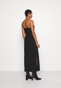 Calvin Klein - CAMI DRESS - Maxi šaty - black - 2