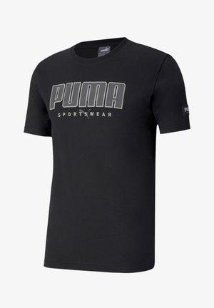 ATHLETICS  - T-shirt con stampa - black